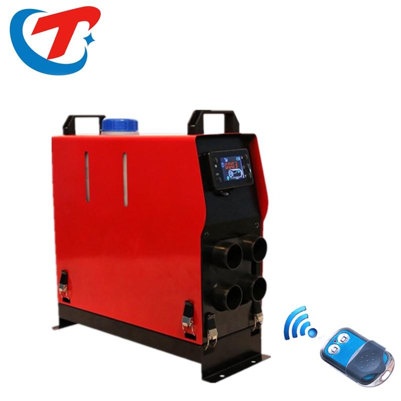 5KW 12 В Air дизелей нагреватель стояночный отопитель с дистанционным Управление ЖК-дисплей монитор автомобиля нагреватель глушитель бесплатн...