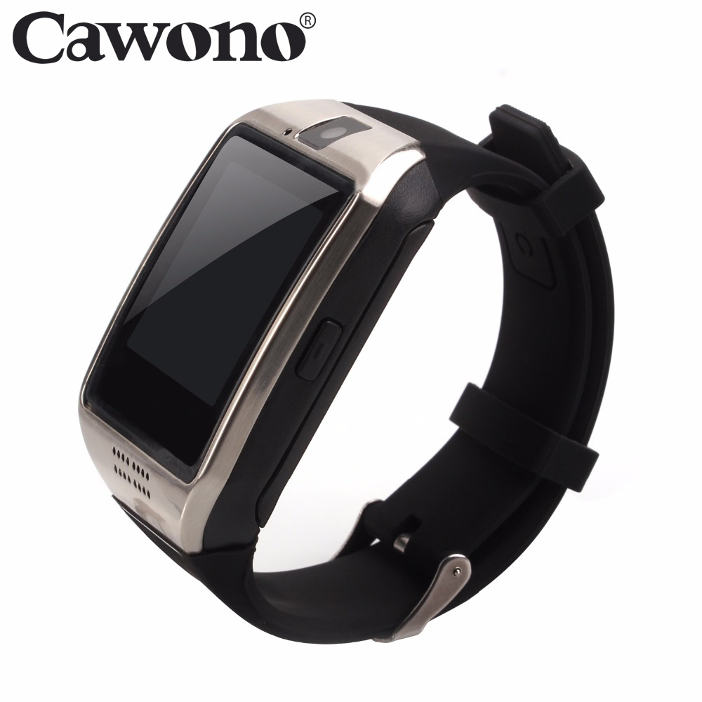 Cawono Q18 Bluetooth Smartwatch Fitness Tracker Smart Watch Passometer for iPhone Xiaomi Huawei Android Smartphone PK DZ09 GT08