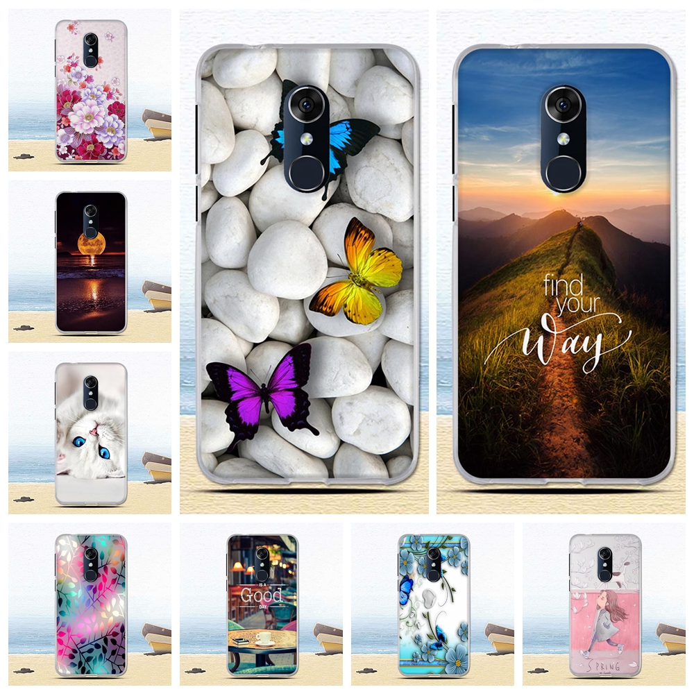 Case For Alcatel 3L 5034D Case Coque For Alcatel 3 5052Y 5052D 2018 Case Soft Painted Silicone Cover Fundas Coque Housing Shell