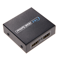 Premium Version Full HD 1x2 Port HDMI Splitter Amplifier Repeater 3D 1080p Female For PS3 With
