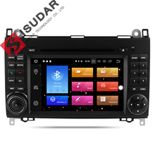 Isudar Car Multimedia Player 2 din Car Radio GPS Android 8.0 For Mercedes/Benz/Viano/B200/B150/B170/B-class OBD2 Microphone DSP