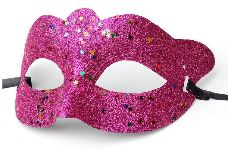 Polvo starlet Venice máscara de Carnaval PVC gladiador romano adulto fiesta Halloween máscaras 100 piezas envío gratis-in Antifaces de fiesta from Hogar y Mascotas    1