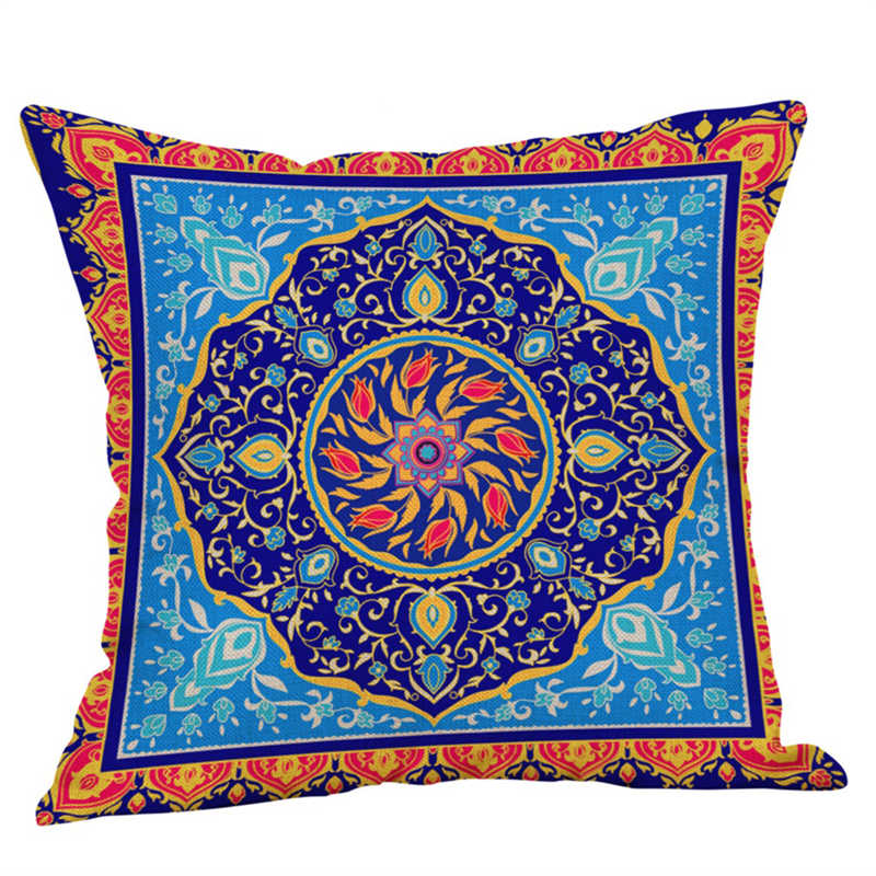 Image 5 - Eid Al Fitr Line Letter Pattern Pillowcases Cover Super soft fabric Home Cushion Throw Bedding Pillow Case Pillow Covers-in Pillow Case from Home & Garden