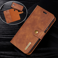 Luxury Original Leather Case For Samsung Galaxy J7 2017 Case Wallet Magnetic Phone Bag Case For