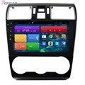 9 ''Frete Grátis Quad Core Android 4.4 Estéreo Carro para Forester XV 2015 Com Áudio de Rádio GPS Grátis Mapa Wifi Bluetooth Sem DVD