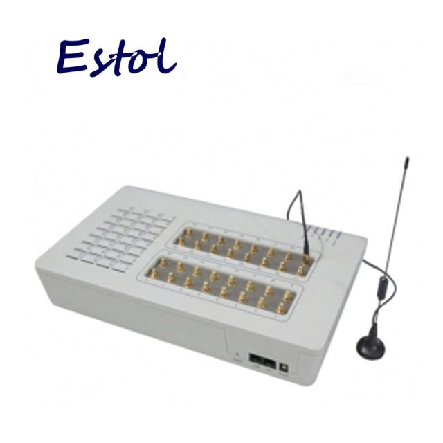 חם על מכירה! 32 GSM יציאה (GoIP Gateway), בתפזורת SMS,32 GSM שבבי, GOIP32,GSM Gateway, אסטריסק Gateway 32 ערוצי GSM