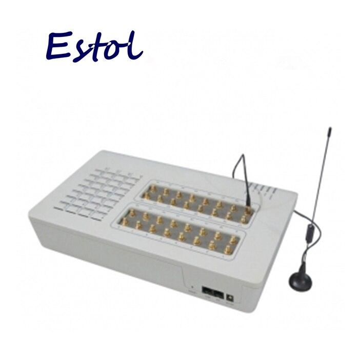 Prix pour Chaud en vente! 32 Port GSM Passerelle VoIP (GoIP Passerelle), en vrac SMS, 32 GSM Puces, GOIP32, Passerelle GSM, Astérisque Passerelle 32 Canaux GSM