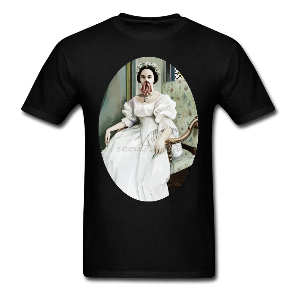 Lady Cthulhu Tee Adult Crew Neck Newest T Shirt Men Cotton Round Neck For Man Hot Sale T-Shirt