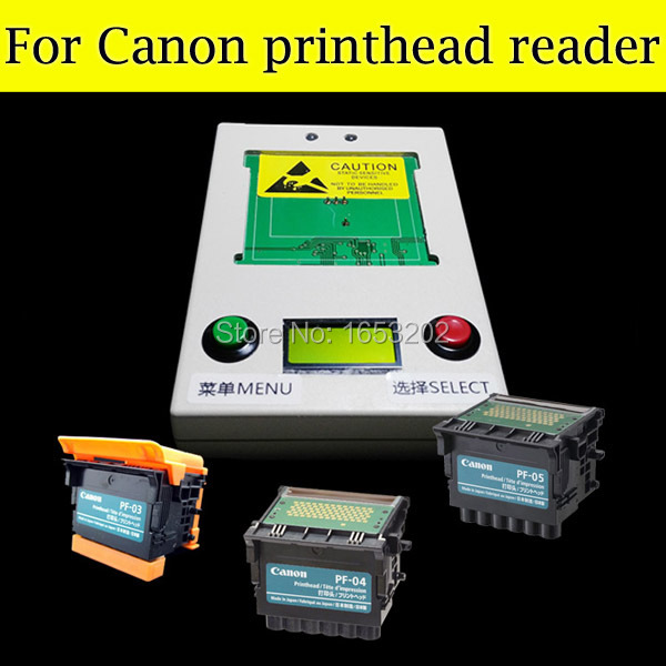 NEW and HOT !! Print head reading machine for canon PF04 for canon 650 655 750 755 printhead for canon PF-04