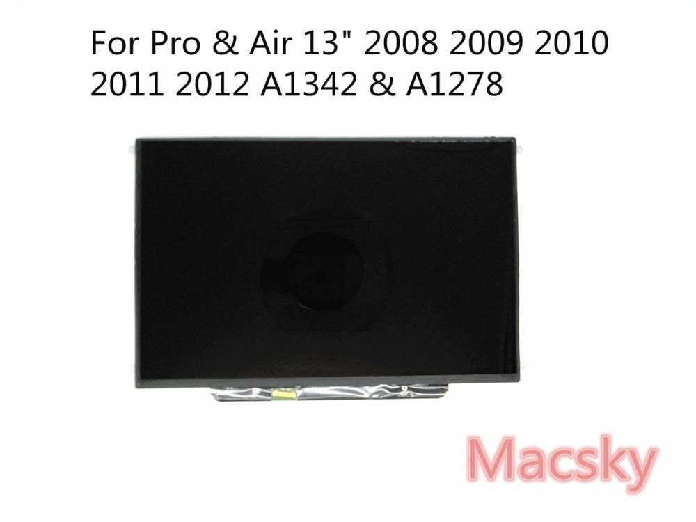 99% новый оригинальный матрица Экран дисплея для Macbook Pro 13 2009 2010 2011 2012 A1278 A1342 светодиодный ЖК-дисплей Экран 1280x800 LTN133AT09
