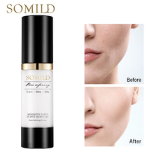 SOMILD Korean Face Primer Makeup Base 30ML Matte Pore Invisible Facial Minimizing Pores Smooth Cosmetics