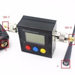 SURECOM SW-102 (con dos conectores) medidor de potencia Digital de 100-520 Mhz y SWR VHF/UHF
