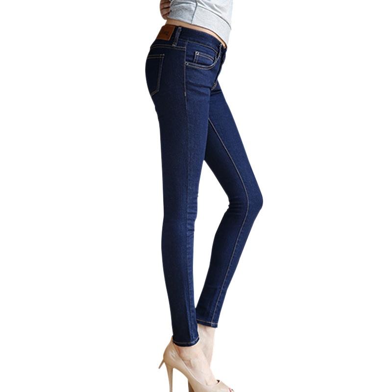 jeans women plus size winter fashion Thick Thermal Warm Fleece Nap fitness jeans leggings for ladies Denim Trousers With Pockets
