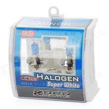 цена на KOBO H3 12 v 55 w 5500-6000k halogen headlamp super white light automotive halogen near light lamp