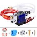 3D Drucker Teile J-kopf Hotend mit Fan für 1,75/3,0mm 12 v 3D v6 bowden Filament wade Extruder 0,2/0,3/0,4mm Düse + Volcano kit