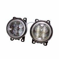 For MITSUBISHI L200 KB T KA T Pickup 05 15 Car Styling Bumper Angel Eyes LED