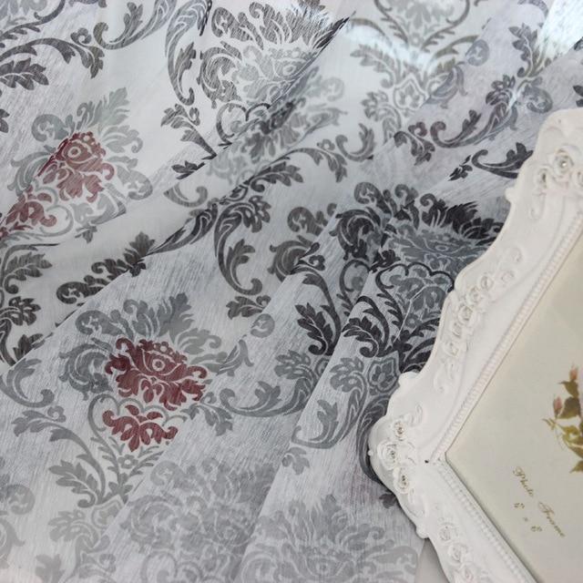 1 pz 2018 Nuove Tende per Finestre Tende Europeo Moderno Ed Elegante Nobile di Stampa All'ombra Della Tenda Per Soggiorno camera Da Letto