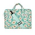 Mosiso moda 11 13 15 polegada mulheres messenger bag para macbook lenovo acer 13.3 15.6 polegada maleta notebook carry case