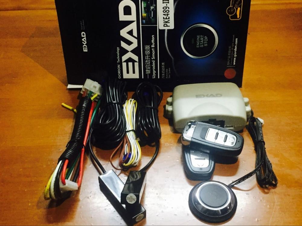 Для Toyota PKE Автомобильная сигнализация Функция дистанционного центрального блокировки кнопочный пульт Авто Автозапуск автомобиля кнопка з...
