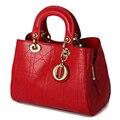 Moda Lingge Bolsa para compras mulheres bolsas mochila das Mulheres Saco De Couro Rachado bolso impermeável mujer WL297 borsa um spalla