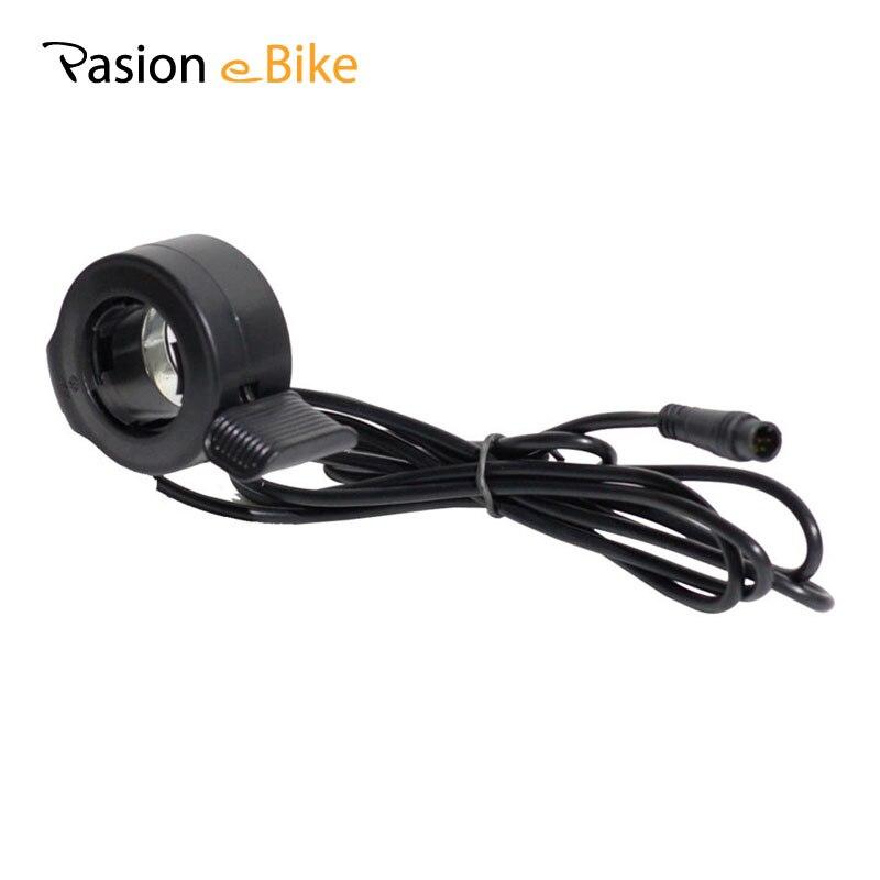 Pasion Ebike Throttle Sondors Thumb Throttle For Ebike 36V 48V 72V Finger 140CM E <font><b>Bike</b></font> Speed Throttle <font><b>Electric</b></font> Bicycle Parts