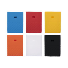 Hard Drive Silicone Case Hard Disk Non-Slip Protective Cover Scratch Shock Proof Protector SSD Sheath For WD Mypassport 1t 2T(China)