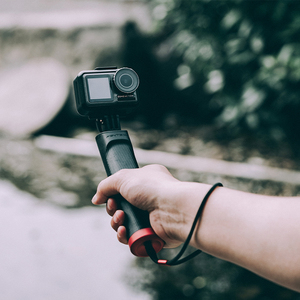 Image 4 - Ação de pgytech dji osmo/bolso selfie vara lidar com apertos para gopro hero 9 8 7 6 5/insta360 um x/ /xiao yi câmera esportiva