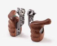 TILTA TT 0510 Wooden handle handgrip w/ REC Trigger Right Left handle For SONY A7 RED Scarlet EPIC ARRI BMD Canon Shoulder rig