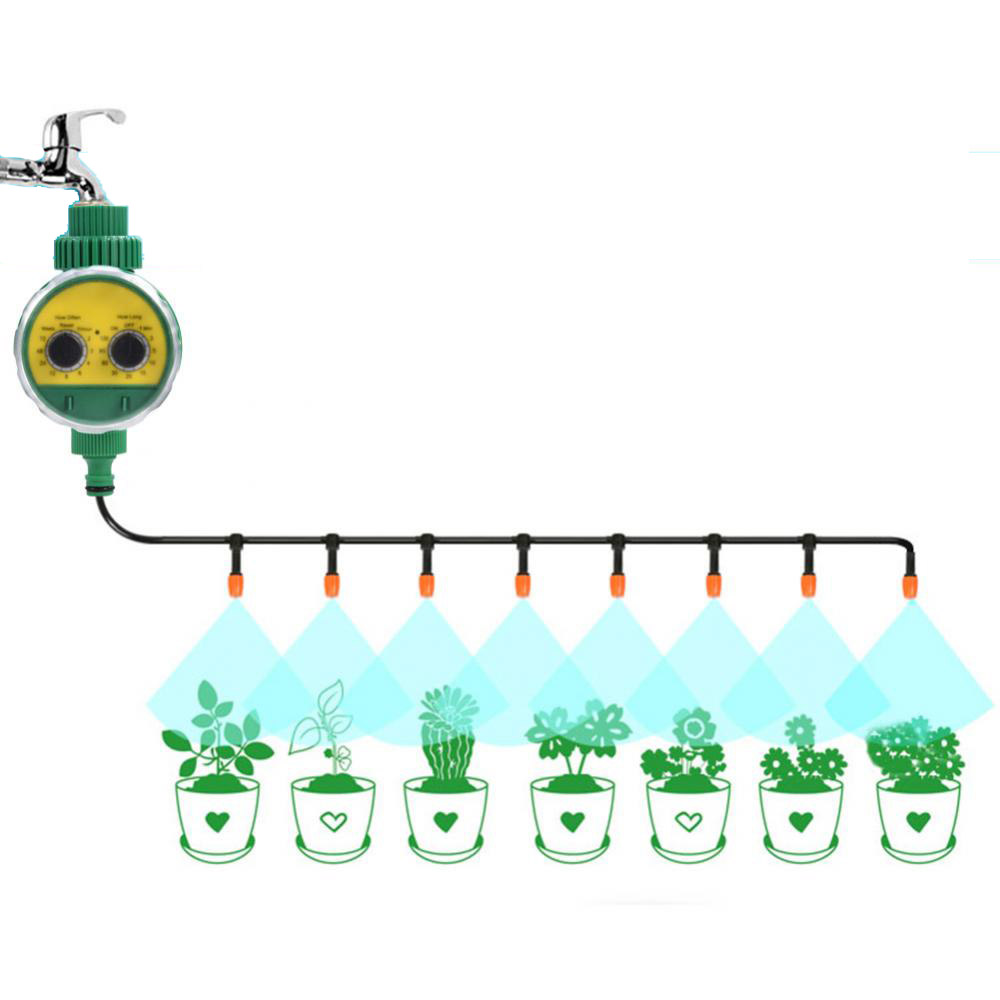 Newest Automatic Electronic Water Timer Garden Irrigation Solenoid