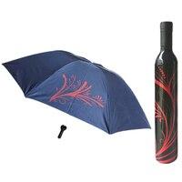 Moda Floral Botella Paraguas Mujeres Lluvia Paraguas Princesa 30JY13 Creativo Lluvia Paraguas Paraso de La Venta Al Por Mayor del Regalo de Navidad