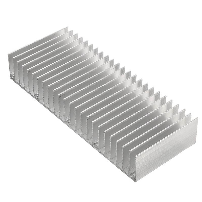 Radiators Aluminum Heatsink 150x60x25mm Heat Sink Cooling LED Power IC Transistor For Computer Electronics Equipment Cooler