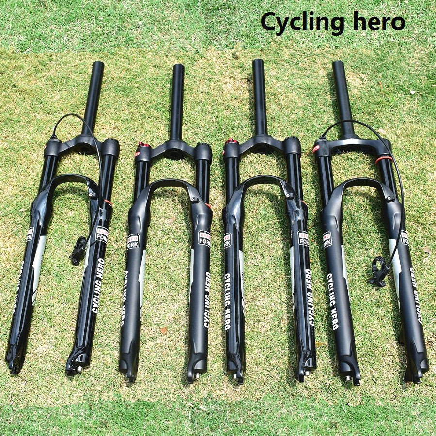 XC Forks MTB Air Suspension Bicycle Plug Mountain bike fork 32MM 100MM 120MM Travel Price higher