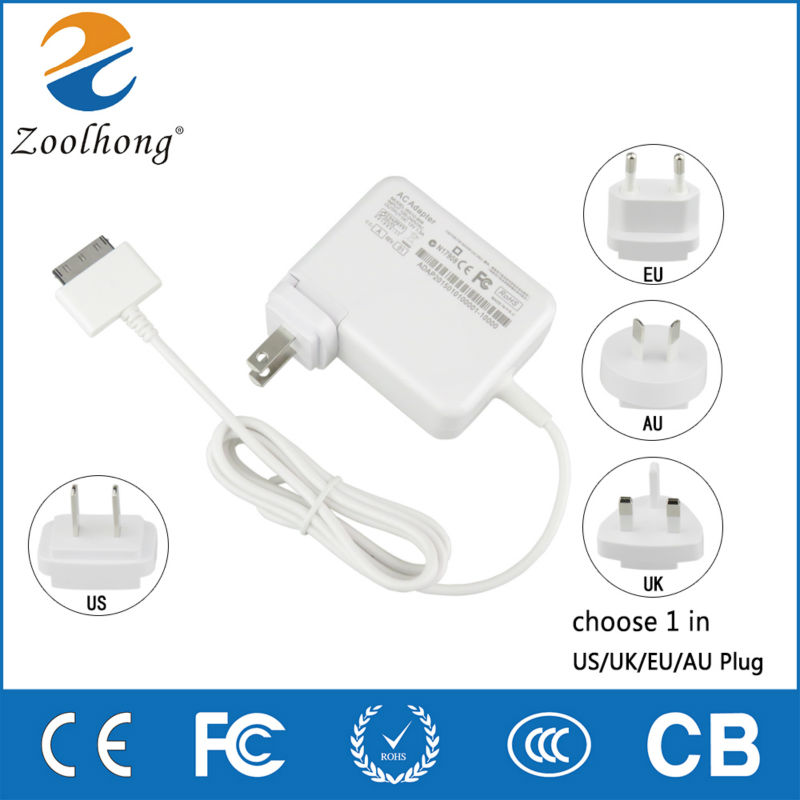 new mould wall charger 12V 1.5A tablet adapter for ACER Tablet W510/W511 charger with good quality
