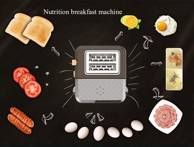 3 in 1 breakfast machine kitchen tools toast furnace automatic household multi-function breakfast toast toast machine 6