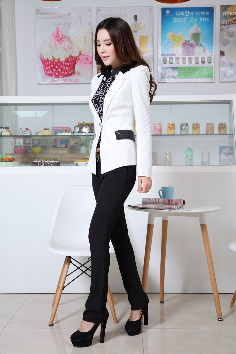 Black And White Suit For Women | My Dress Tip