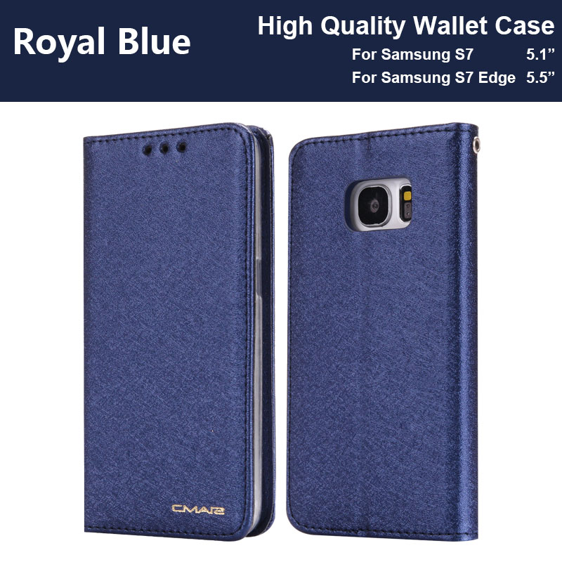 timeless design ef98a a3611 Coque S7 Edge Case For Hoesje Samsung S7 Case Leather Luxury Phone Funda  Samsung Galaxy S7 Edge Case Flip Wallet Cover S7 Cases