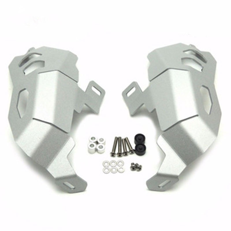 2pcs For <font><b>BMW</b></font> <font><b>R1200GS</b></font> Adventure WATER COOLED <font><b>Cylinder</b></font> <font><b>Head</b></font> Guards Protector Cover Engine for R1200 GS <font><b>R1200GS</b></font> 2013 2014 2015 2016 image