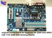 Оригинальный материнская плата для Gigabyte GA-Z68P-DS3 DDR3 LGA 1155 Z68P-DS3 Desktop Панели
