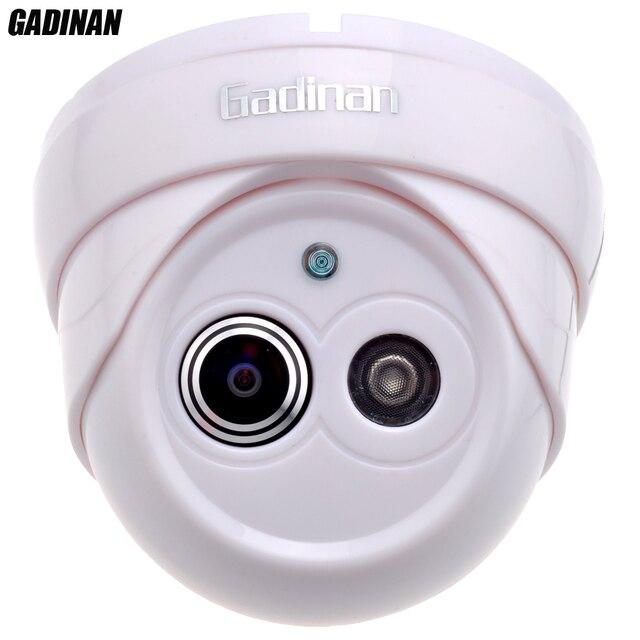"Gadinan 800TVL/1000TVL 1/3"" Color HD CMOS 1.8mm Lens Ultra Wide Angle 120 Degree IR Cut Night Vision Dome Security CCTV Camera"