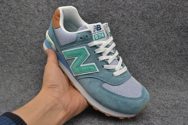 online store 8deff 8abea Hot sale New Arrival NEW BALANCE NB574 Men's shoes Breathable Sneakers  outdoor Badminton Shoes size36 44-in Badminton Shoes from Sports & ...