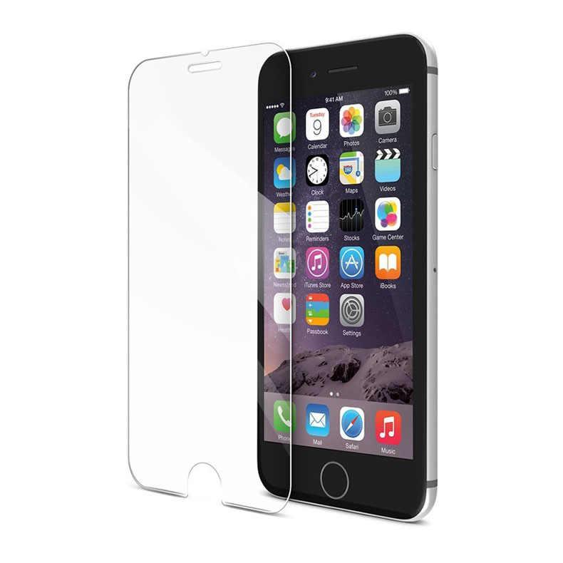 0.3 ملليمتر 9 H رقيقة جدا الزجاج المقسى ل فون aifon ifon ihone i phone 4 4 ثانية 5 5 ثانية 5c 6 6 ثانية زائد 2.5d واقي للشاشة