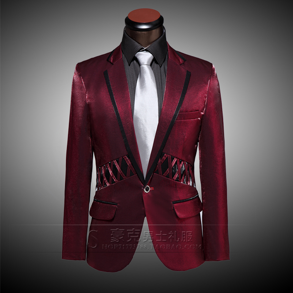 2018 groom tuxedo suit with casual clothing hosted emcee