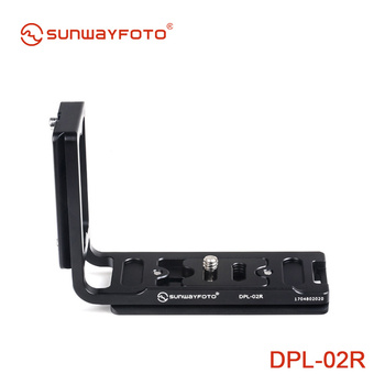 SUNWAYFOTO Universal plate DPL-02R for camera body Really Right Stuff, Benro compatible