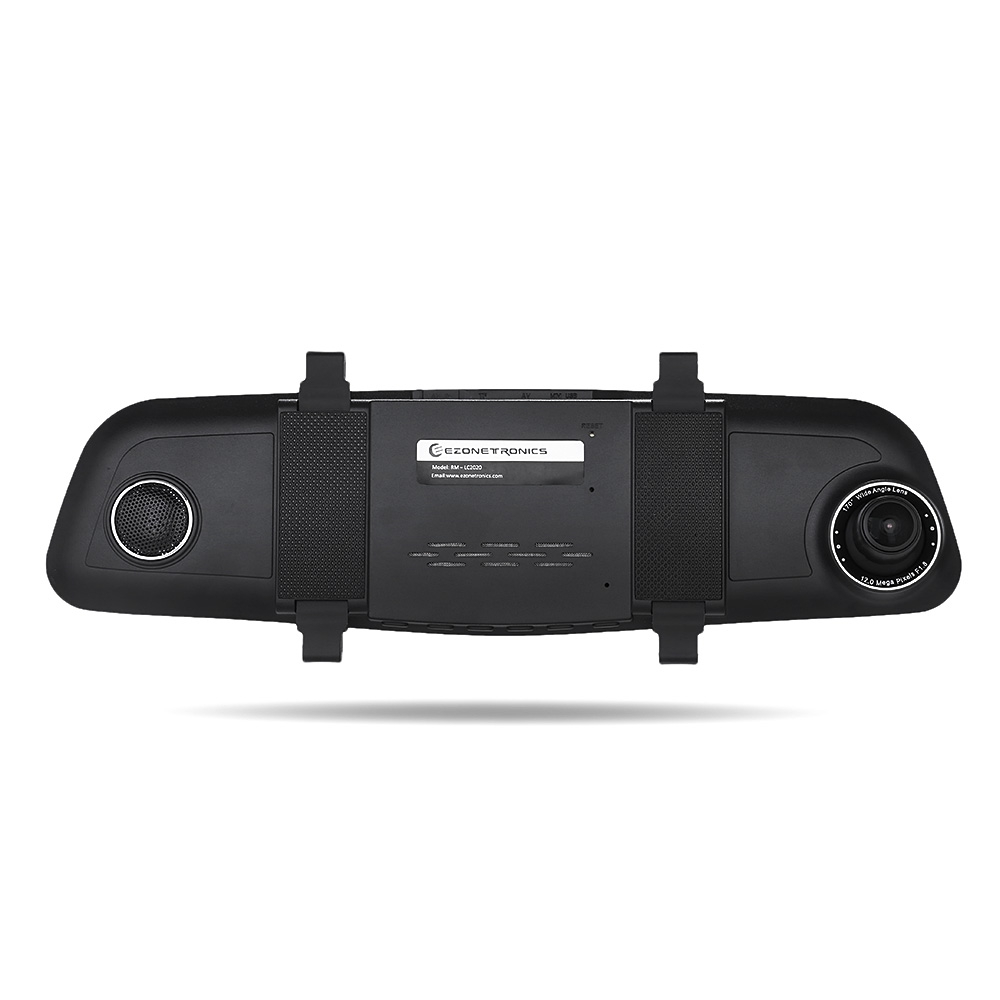 Zeepin RM - LC2020 5.0 inch IPS TFT Display Car Rear View Mirror Dash Cam Front 170 Degree Wide Angle Auto Driving DVR