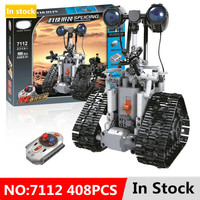 Legoing Technic City Remote Control RC Bulldozer Electric designer Building Blocks Compatible with Engineering 408pcs toys Gifts