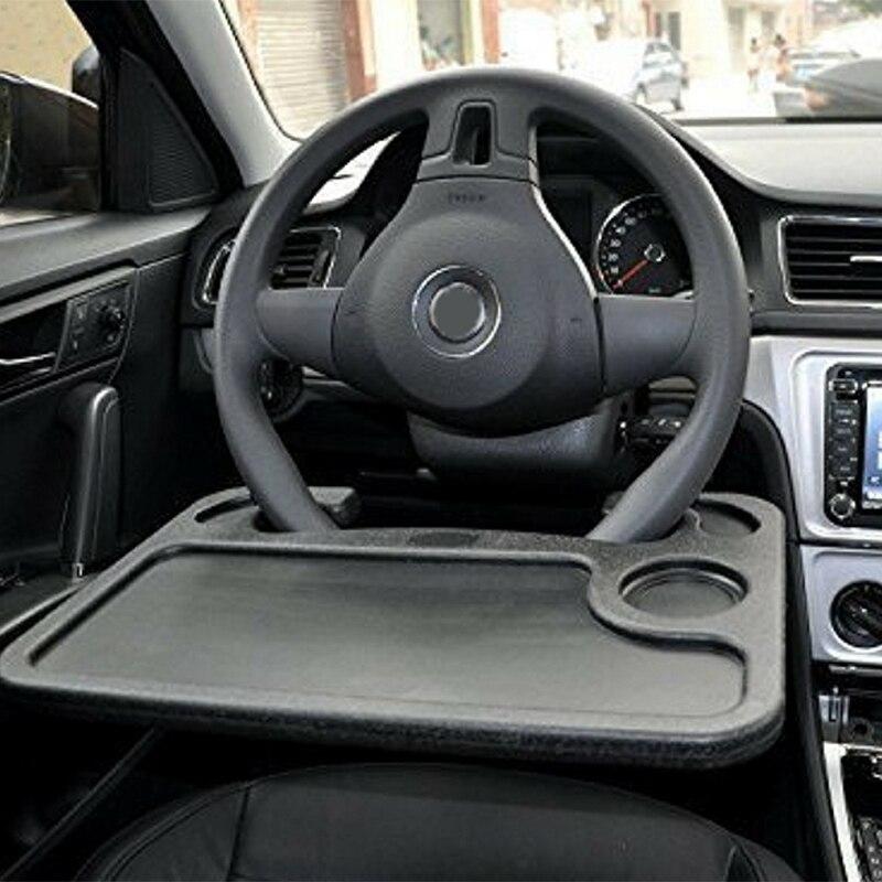 Accesorios de coche de alta calidad soporte Universal para ordenador portátil escritorio volante bandeja Mesa comida soporte para bebida