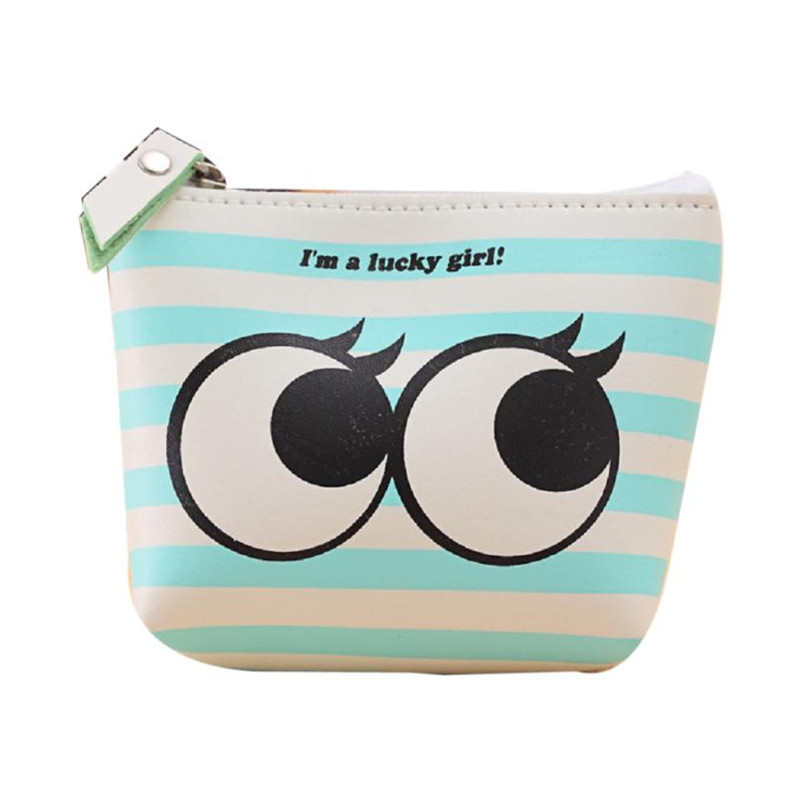 Hot Sale Cute Women Coin Purse Girls Fashion Kids Purse Mini Coin Wallets Money Bag Change Pouch Female Coin Key Holder Portable
