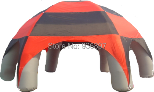 8x8x4mH 6 legs Inflatable spider tent Inflatable advertising tent Inflatable dome tent 6x3mh inflatable spider tent advertising inflatable tent inflatable party tent outdoor events tent