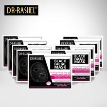New Arrive DR.RASHEL Black mask Face Facial Mask Sheet Skin Care High Moisture Essence Oil Control Anti aging masker
