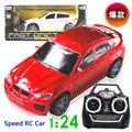 1:24 juguetes Del Bebé del coche 4 Canales suv simulación juguetes de niño 4CH RC Car Radio Control Remoto intermitente Juguete niños modelo regalos
